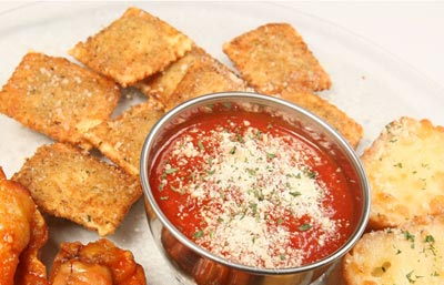 Toasted Ravioli Appetizer